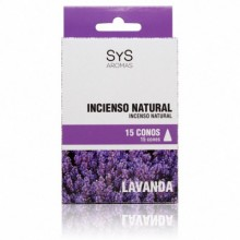 Incenso Nat. Sys 15 cones Lavanda