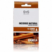 Incenso Natural Canela Sys 15 cones