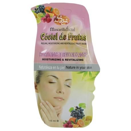 Máscara  Facial Cocktail de Frutas 15ml