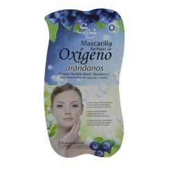 Máscara Facial Borbulhas de Oxigénio e Mirtilo Sys